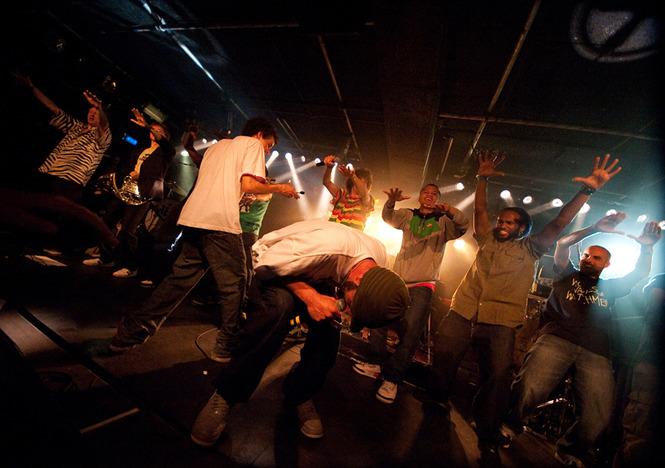 Kyteman's Hiphop Orkest op 16 mei 2009