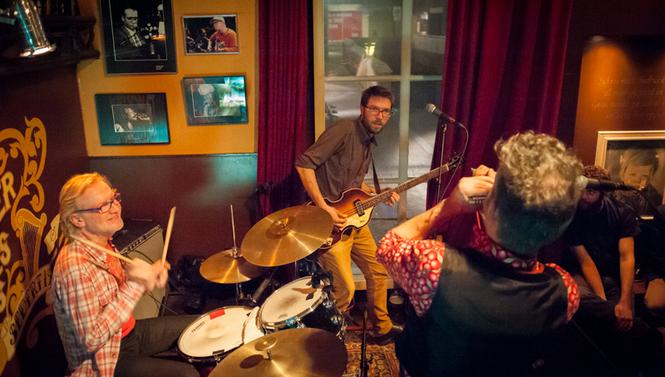 The Rhythm Junks  op 18 februari 2015