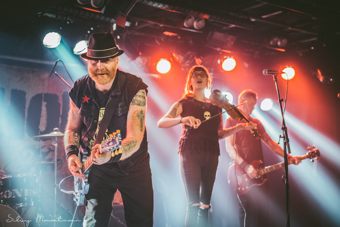 The Mahones  op 16 februari 2017 door Silvy Maatman