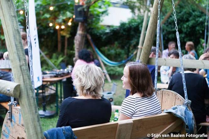 Burgertuin op 23 juni 2017 door Stijn van Baalen
