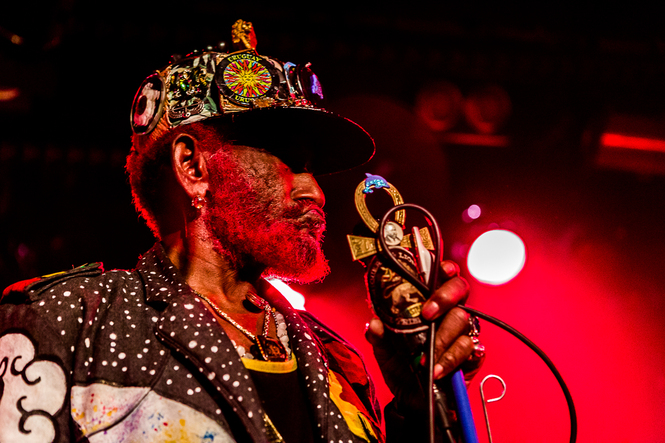 Lee 'Scratch' Perry & Mad Professor op 16 september 2017 door Rick de Visser